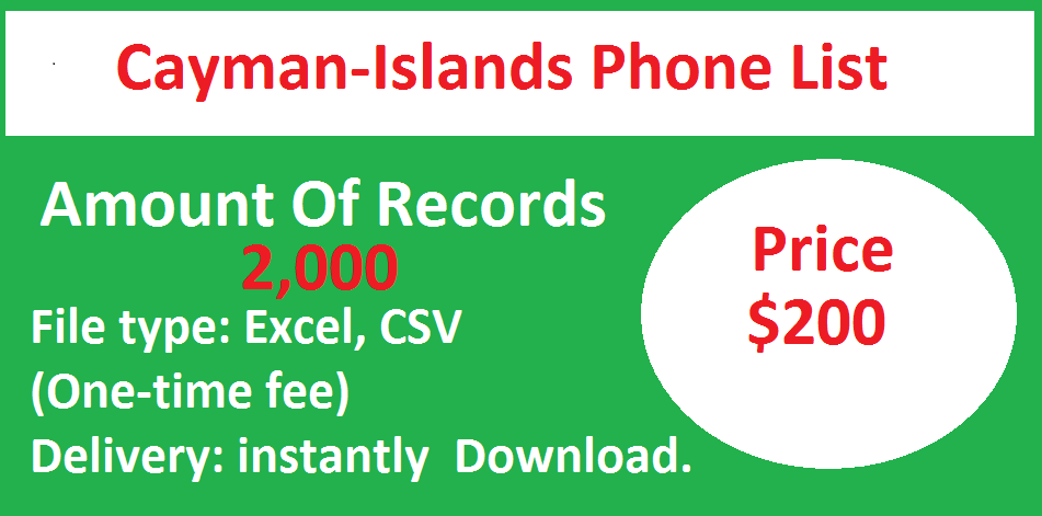 Cayman-Islands Phone List