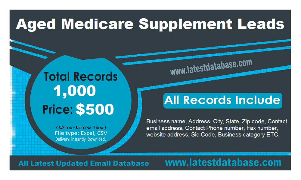 Aged-Medicare-Supplement-Leads