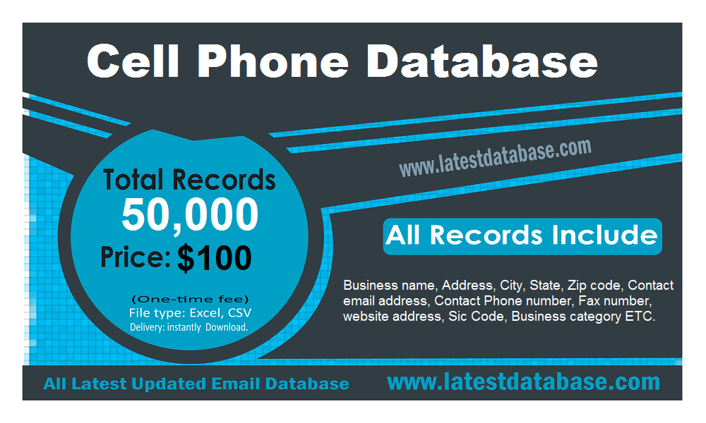Cell-Phone-Database