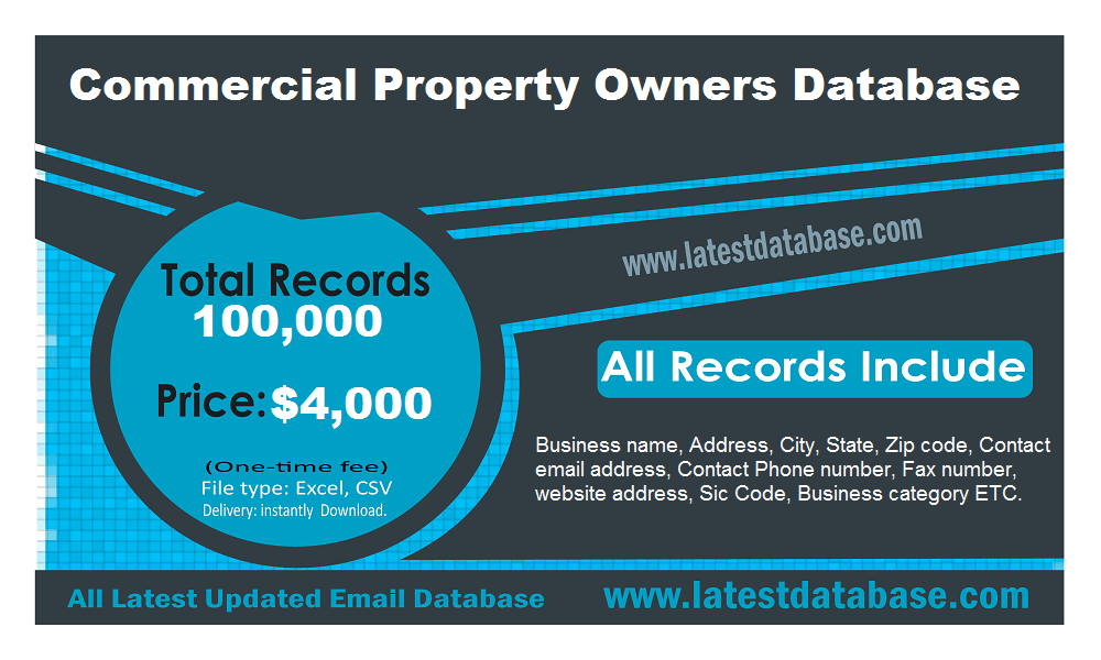 Commercial-Property-Owners-Database