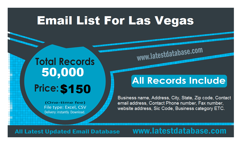 Email-List-For-Las-Vegas