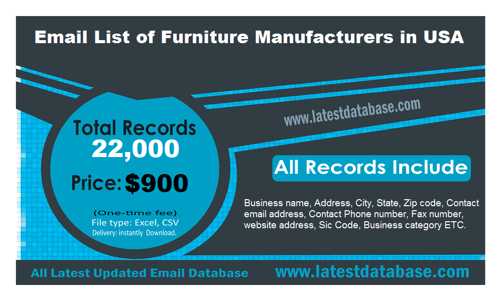 Email-List-of-Furniture-Manufacturers-in-USA