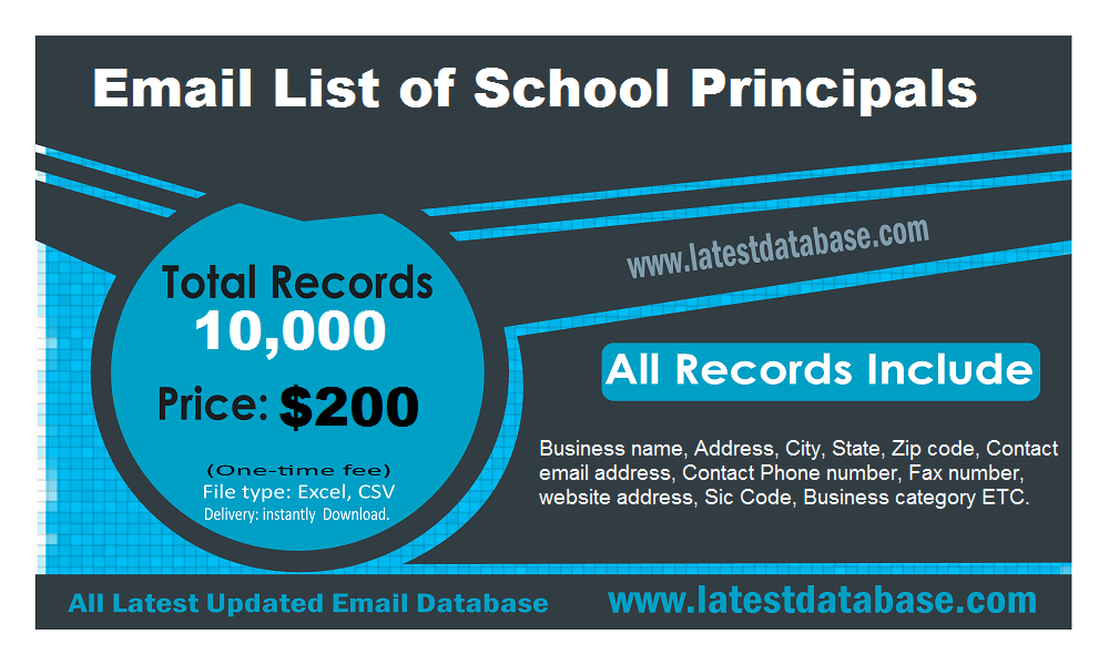 Email-List-of-School-Principals
