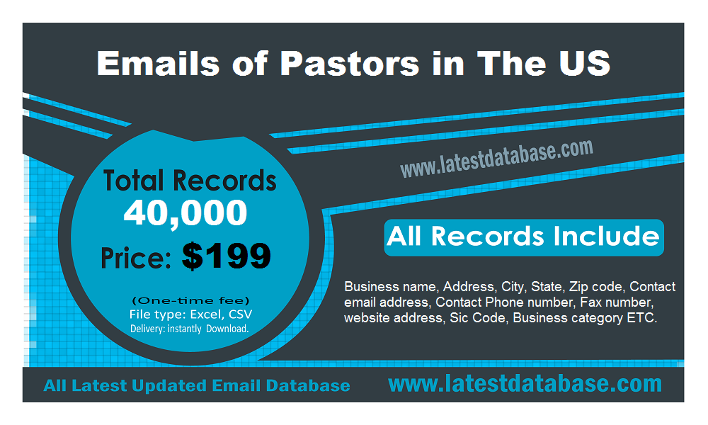 Emails-of-Pastors-in-The-US