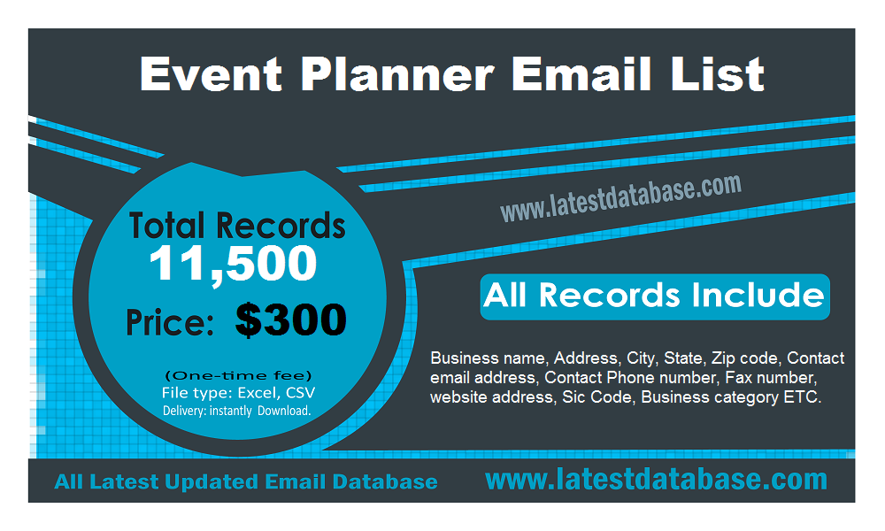 Event-Planner-Email-List