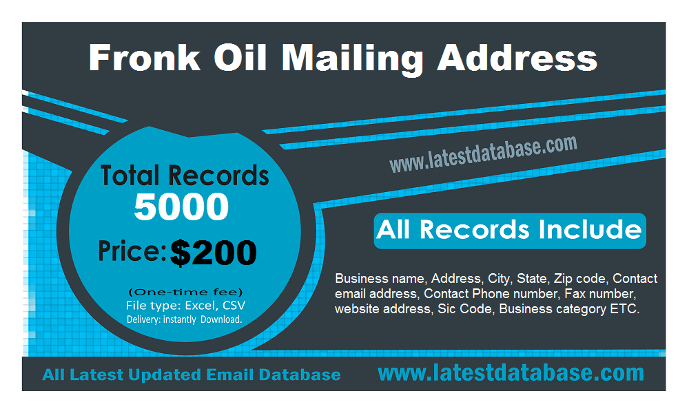 Fronk-Oil-Mailing-Address