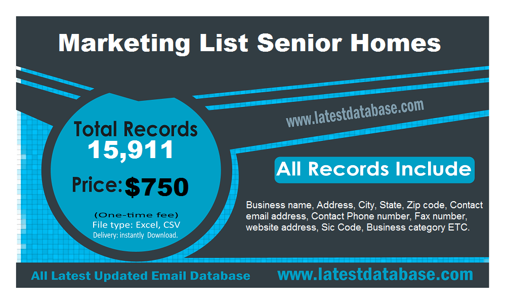 Marketing-List-Senior-Homes