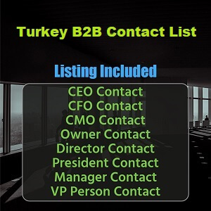 Turkey B2B List
