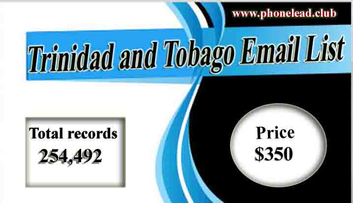 Trinidad and Tobago Email List