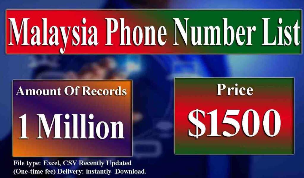 All You Should Know About Reverse Malaysia Phone Number List