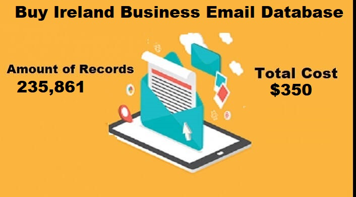 Buy Ireland Business Email List