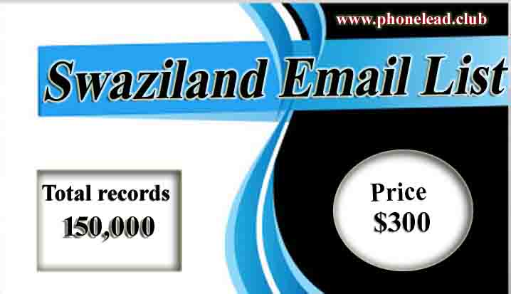 Swaziland Email List